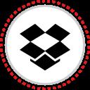 dropbox, logo, social