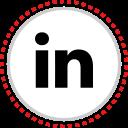 linkedin, logo, social