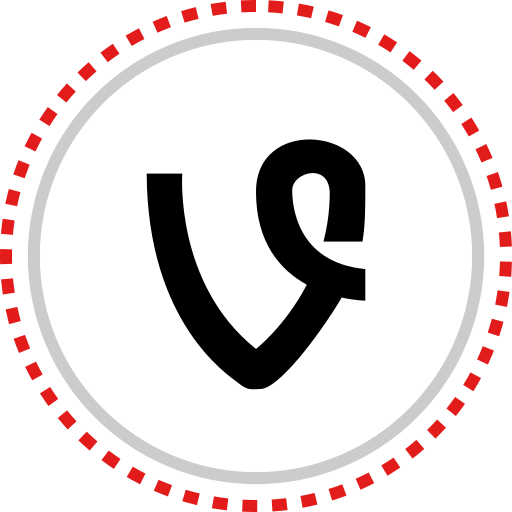 logo, social, vine icon