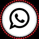 logo, social, whatsapp
