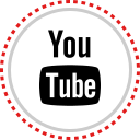 logo, social, youtube icon
