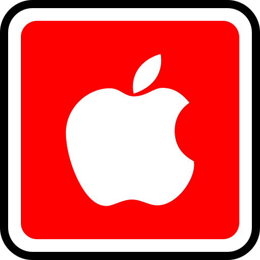 apple, media, social icon