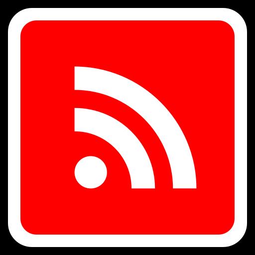 media, rss, social icon