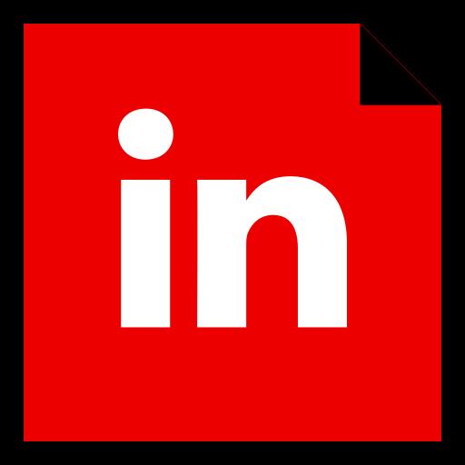 brand, linkedin, logo, media, social icon
