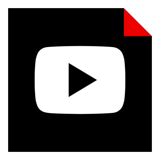 brand, logo, media, play, social, video icon