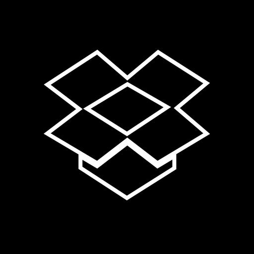 dropbox, media, share, social icon