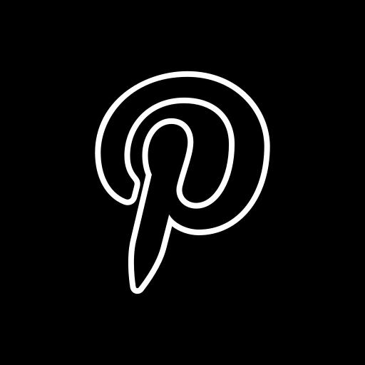 media, pinterest, share, social icon