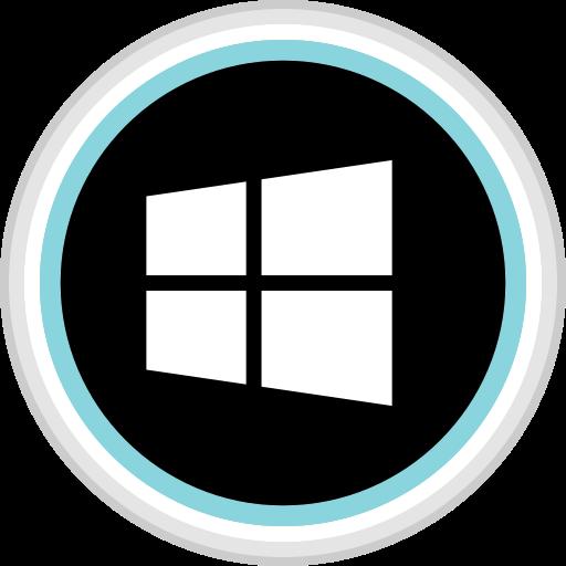 connect, media, social, windows icon