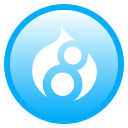 drupal, language icon