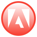 adobe, a icon