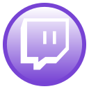 twitch, chat icon