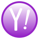 search, yahoo icon
