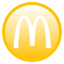 food, mcdonalds icon