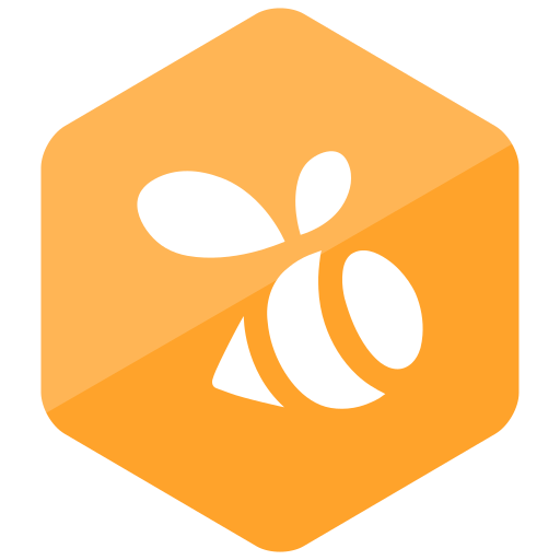 colored, hexagon, high quality, media, social, social media, swarm icon