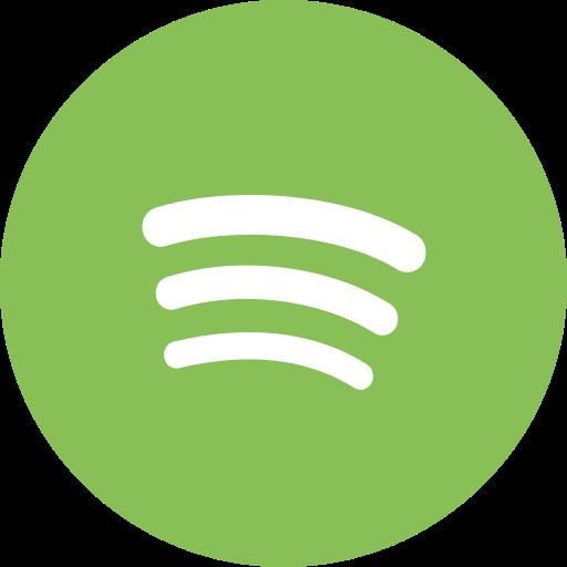 audio, music, player, social media, spotify icon