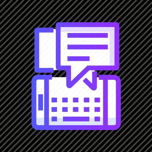 bubble, chatting, communication, message icon