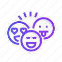 avatar, emoji, emoticon, face, smiley icon