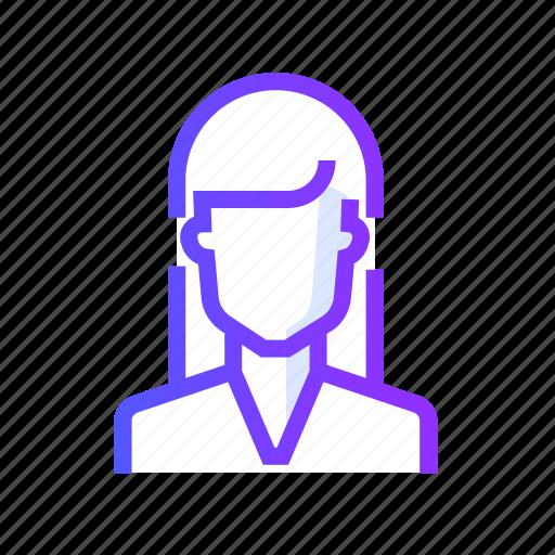 avatar, female, man, people, profile, user icon