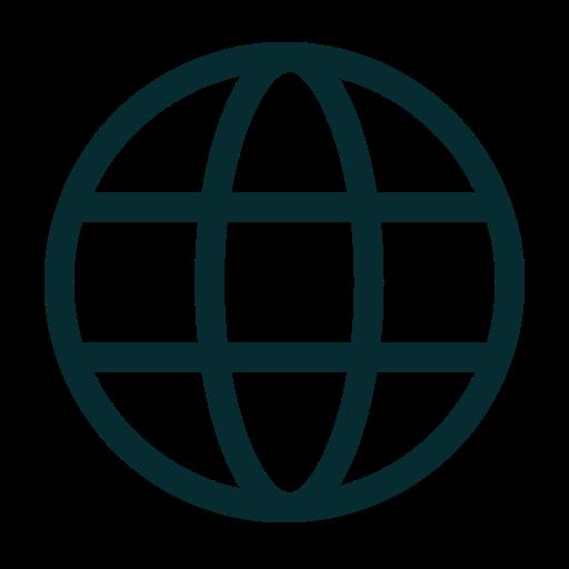 blobal, globe, internet, website icon