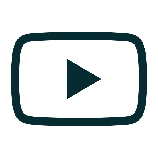 broadcast, google, streaming, video, youtube icon