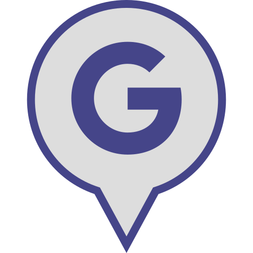 google, logo, media, pin, social icon