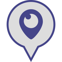 logo, media, periscope, pin, social icon