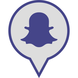 logo, media, pin, snapchat, social icon