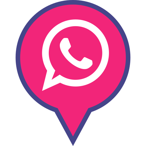 logo, media, pin, social, whatsapp icon