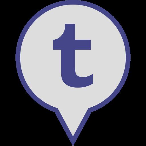 logo, media, pin, social, tumblr icon