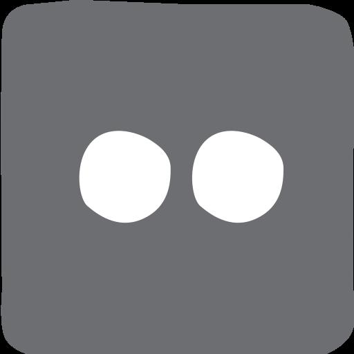 doodle, flickr, social media, socialmedia icon