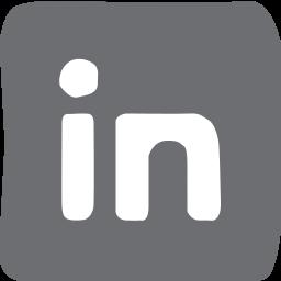 doodle, linkedin, socailmedia, social media icon
