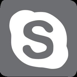 doodle, skype, socailmedia, social media icon