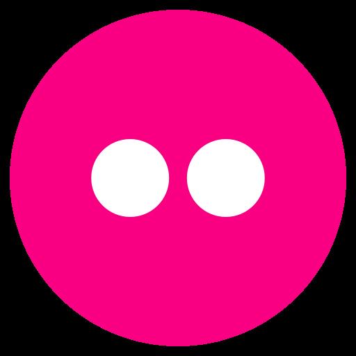 flickr, ico, media, photo add, share, social, social me icon