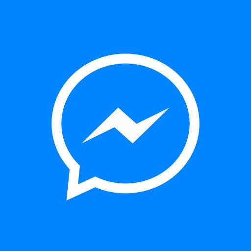 colored, high quality, media, messenger, social, social media, square icon