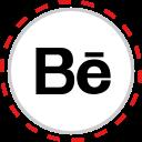 behance, brand, company, logo, media, social icon