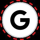 brand, company, google, logo, media, social icon