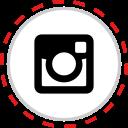 brand, company, instagram, logo, media, social icon