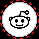 brand, company, logo, media, reddit, social icon