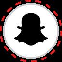 brand, company, logo, media, snapchat, social icon