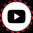 brand, company, logo, media, play, social, youtube icon
