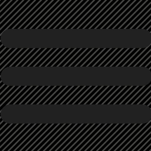 document, file, format, list, menu, type icon