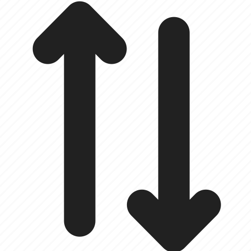 arrow, arrows, direction, down, move, swap, up icon