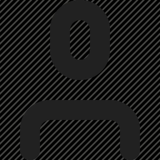 account, avatar, media, person, profile, social, user icon