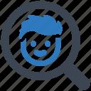 find, friends, search icon