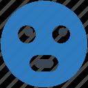 emoji, emoticon, thinking icon