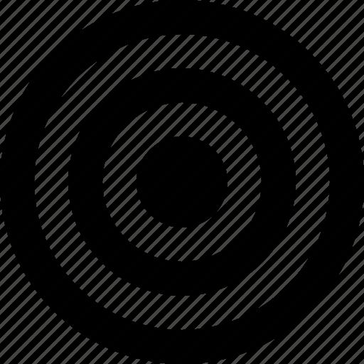 aim, bullseye, efficiency, goal, marketing, objective, target icon