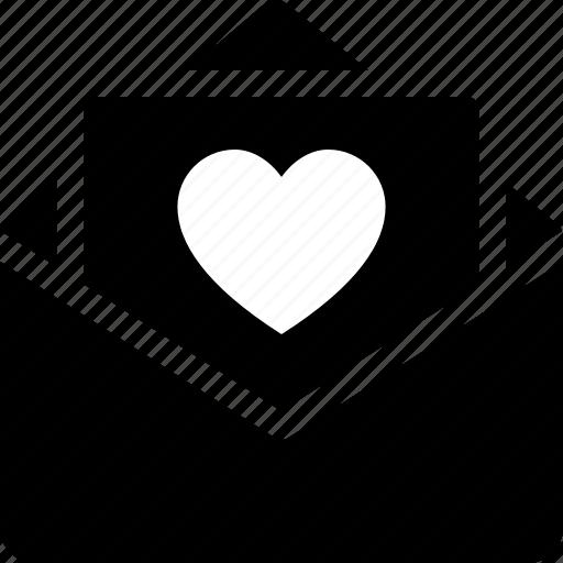 heart, letter, love, message, note, romance, romantic icon