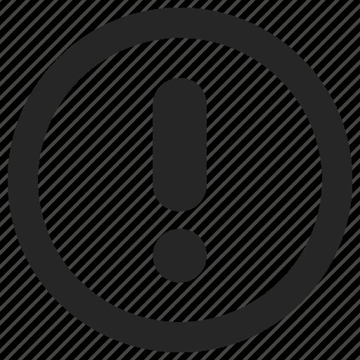 alert, circle, storm, warning icon