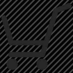 bag, basket, cart, shopping icon