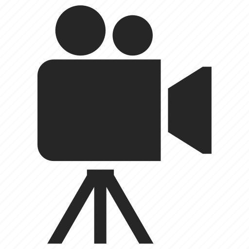 camcorder, camera, clip, director, film, movievideo icon